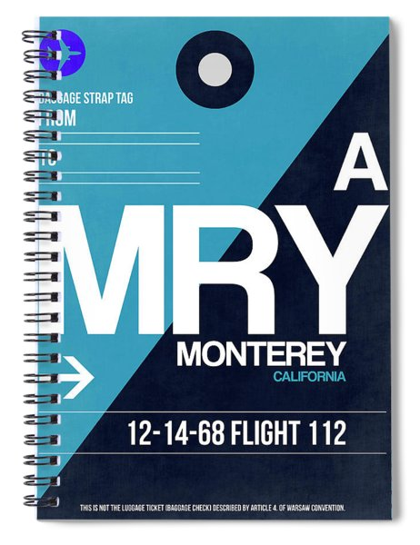 Mry Monterey Luggage Tag II Spiral Notebook