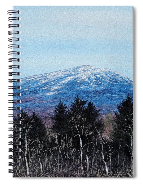 Mt. Monadnock Spring Snow Spiral Notebook