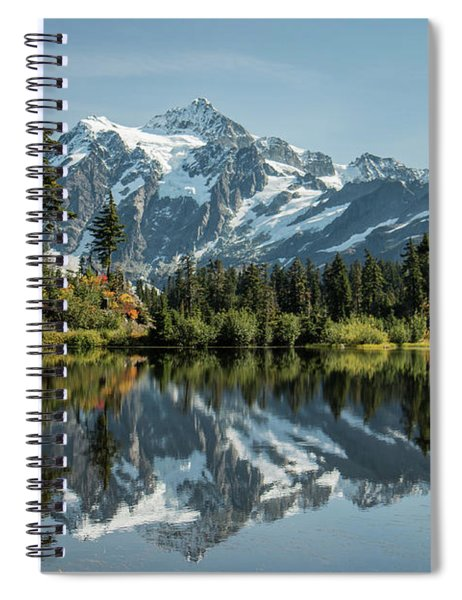 Mt. Shuksan In The Fall Spiral Notebook