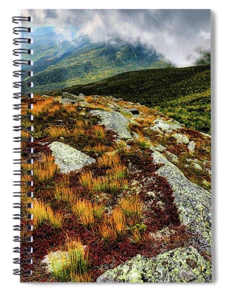Mt. Washington Nh, Autumn Rays Spiral Notebook