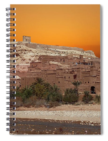 Mud Brick Buildings Of The Ait Ben Haddou Spiral Notebook