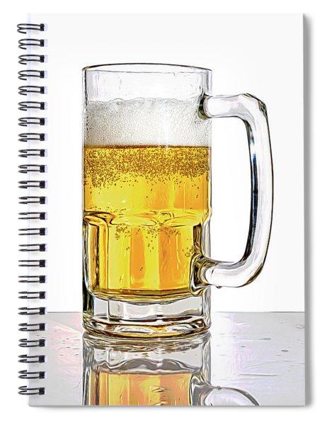 Mug Of Beer Spiral Notebook