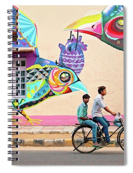 Mural Art Spiral Notebook