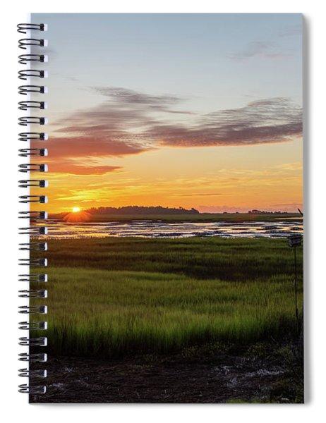 Murrells Inlet Sunrise - August 4 2019 Spiral Notebook