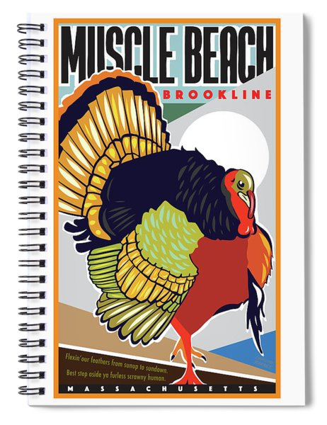 Muscle Beach Spiral Notebook