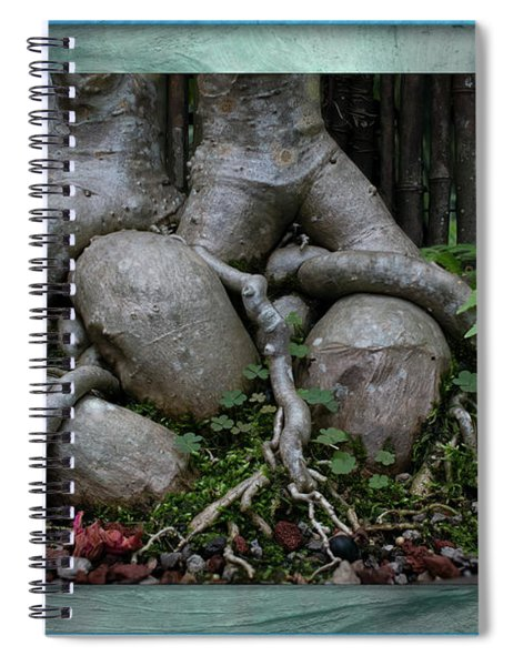 Muscular Bonsai Roots Spiral Notebook