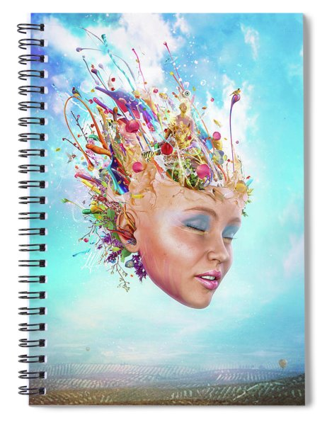 Muse Spiral Notebook