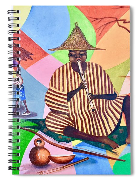 Music And Work Spiral Notebook