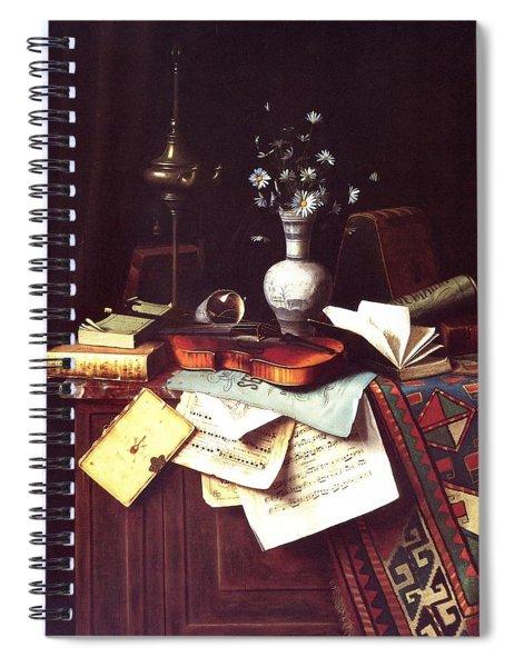 Music Spiral Notebook