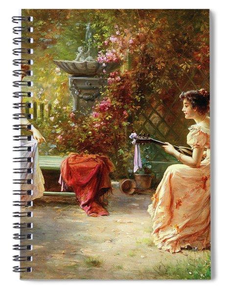 Musical Entertainment Spiral Notebook