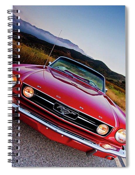 Mustang Convertible Spiral Notebook