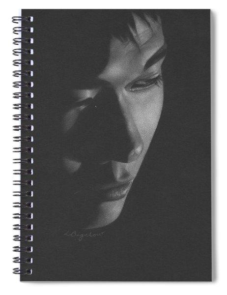 Muted Shadow No. 10 Spiral Notebook