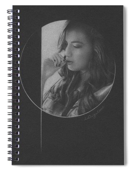 Muted Shadow No. 5 Spiral Notebook