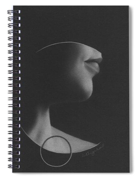 Muted Shadow No. 7 Spiral Notebook