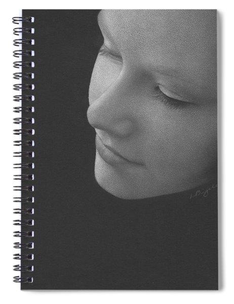 Muted Shadow No. 9 Spiral Notebook