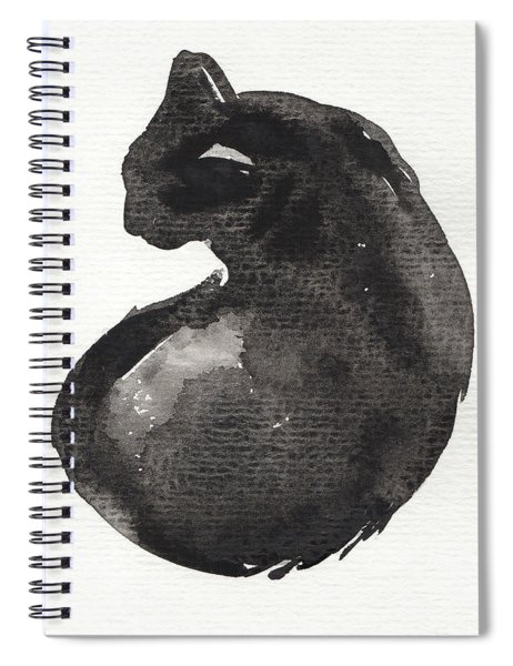 My Black Cat Spiral Notebook