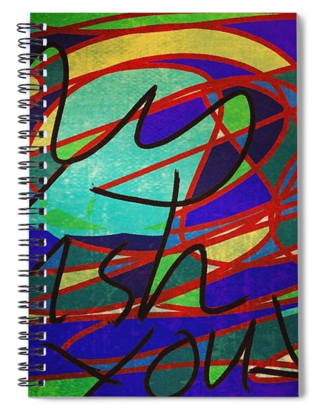 My Fish Knowz You Spiral Notebook