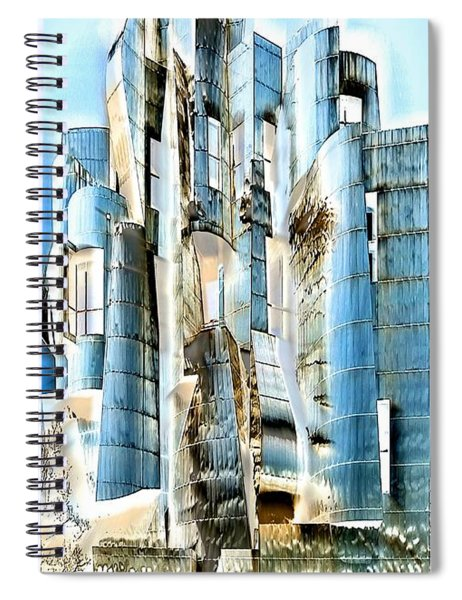 My Fortress Of Dancing Steel Spiral Notebook