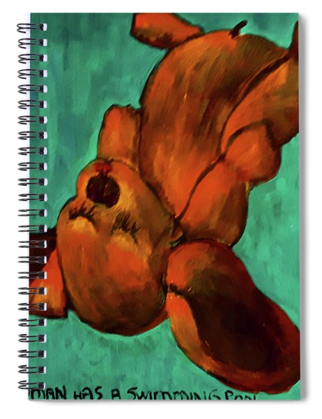 My Human Has A Swimming Pool Spiral Notebook