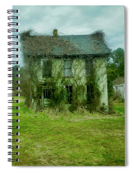 Auntie's Old House Spiral Notebook
