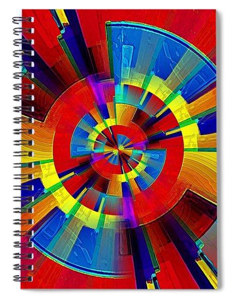 My Radar In Color Spiral Notebook