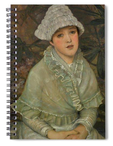 My Wee White Rose, 1882 Spiral Notebook