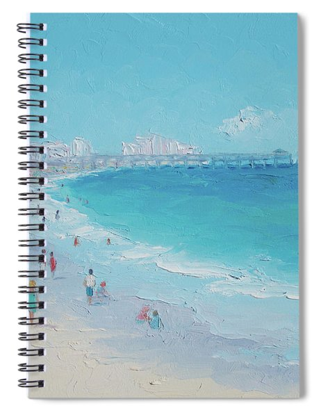 Myrtle Beach And Springmaid Pier Spiral Notebook