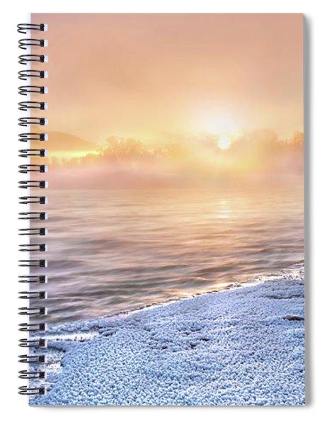 Mystical Winter Morning Spiral Notebook