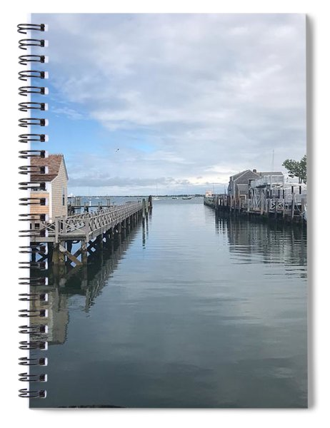 Nantucket Waterway Spiral Notebook