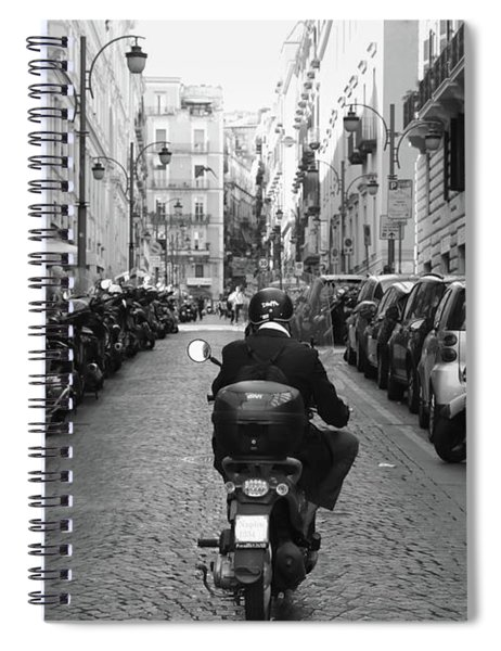 Naples Italy Spiral Notebook
