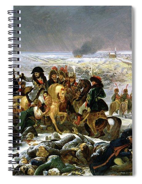 Napoleon Ier Parcourant Le Champ De Bataille D'eylau Spiral Notebook