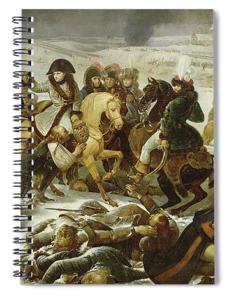 Napoleon On The Battlefield Of Eylau, 1807 Spiral Notebook