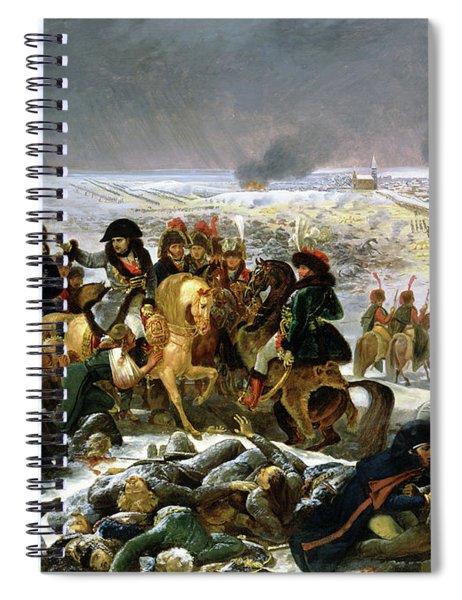 Napoleon On The Battlefield Of Eylau, 1808 Spiral Notebook