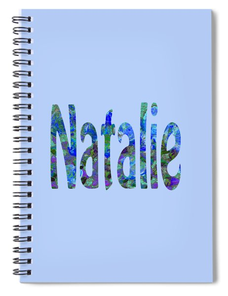 Natalie 2 Spiral Notebook