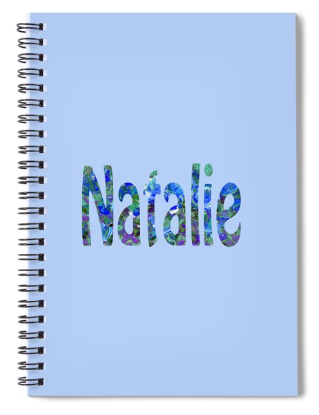 Natalie 3 Spiral Notebook