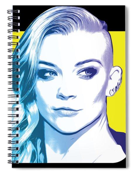 Natalie Dormer Spiral Notebook