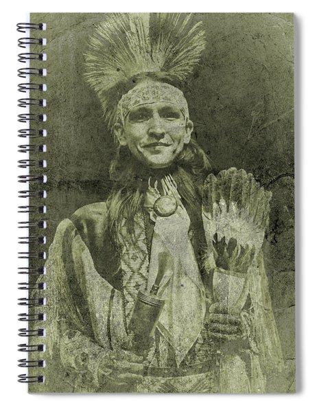 Native American Dancer Spiral Notebook