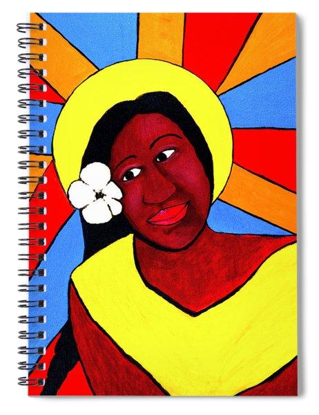 Native Queen Spiral Notebook