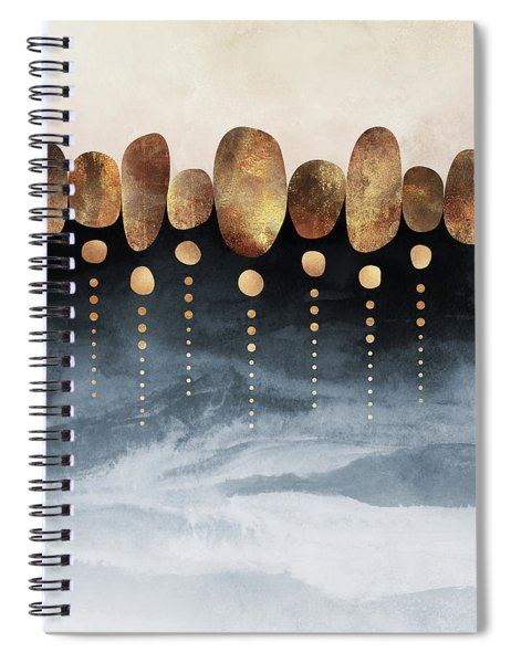 Natural Abstraction Spiral Notebook