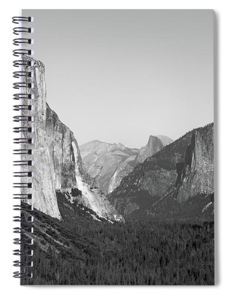 Nature At Its Best - Black-white Spiral Notebook