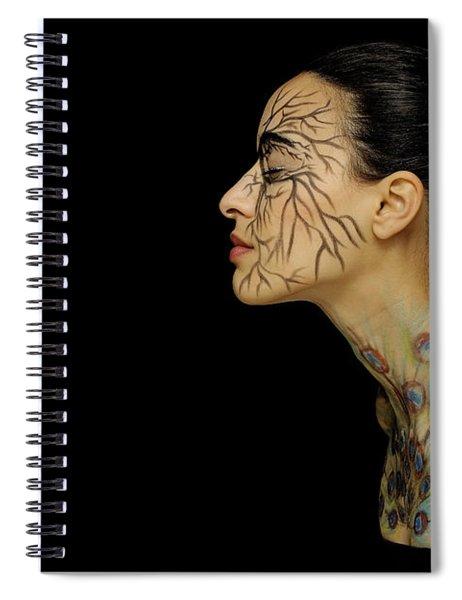 Nature Runs Through My Veins Spiral Notebook