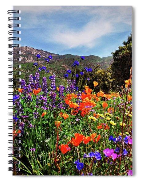 Nature's Bouquet  Spiral Notebook