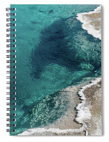 Nature's Hot Tub Spiral Notebook