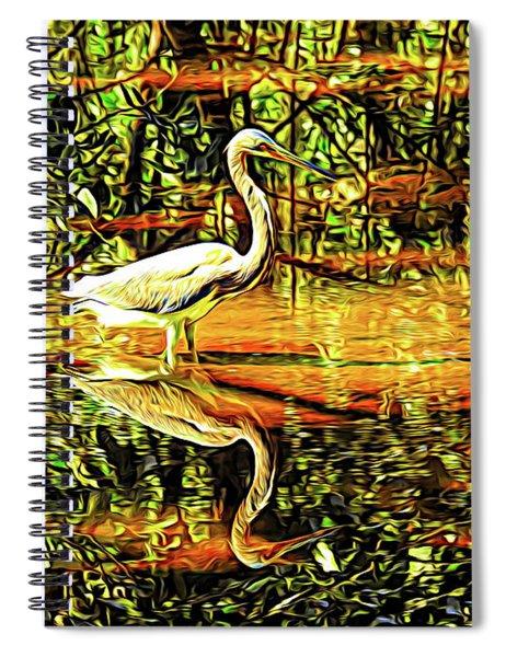 Nature's Mirror Spiral Notebook