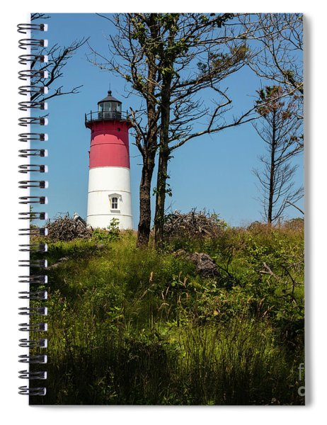 Nauset Lighthouse On The 4th Of July Spiral Notebook