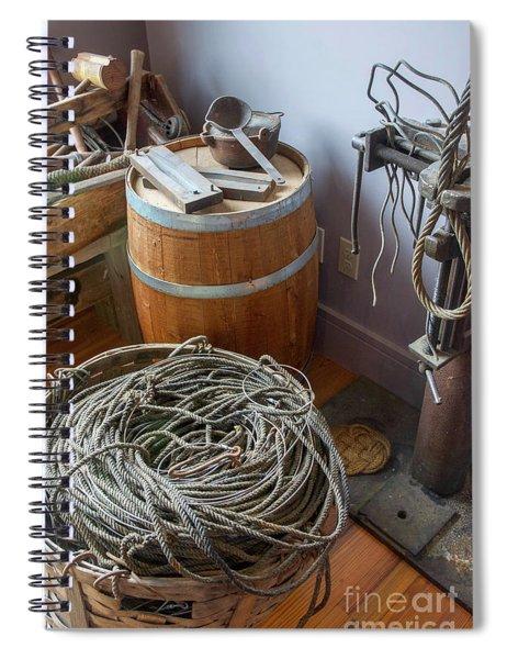 Nautical Equipment Spiral Notebook