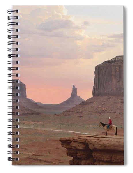 Navajo Rider  Spiral Notebook