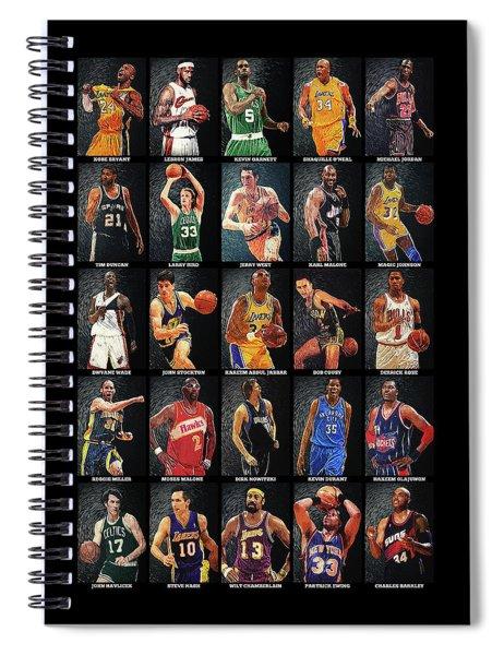 Nba Legends Spiral Notebook
