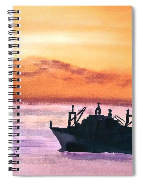 Near Panama Canal Spiral Notebook