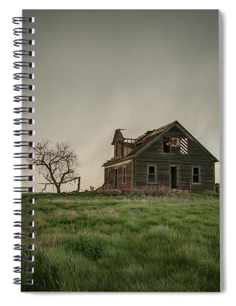 Nebraska Farm House Spiral Notebook